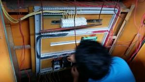 đấu nối sửa chữa tủ điều khiển