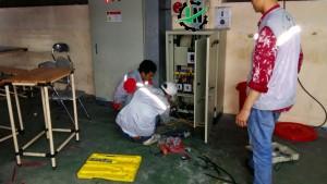 đấu nối tủ điện tại hải dương